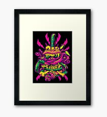 BEASTBURGER Framed Print
