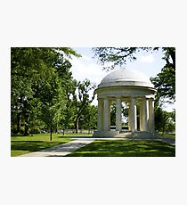 WW2 Memorial Photographic Print