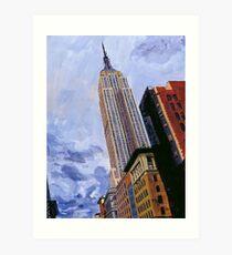 ESB, NYC Art Print