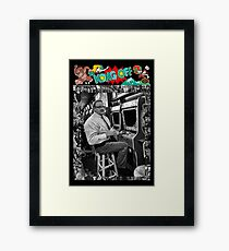 Famous Donkey Kong Player Framed Print