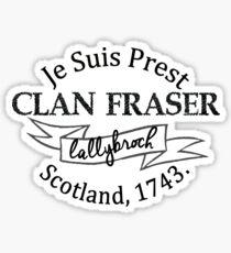 Clan Fraser - Outlander Sticker