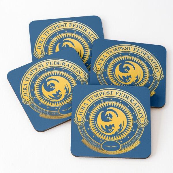 Jura Tempest Federation Seal Coasters (Set of 4)