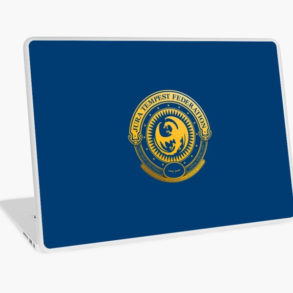 Jura Tempest Federation Seal Laptop Skin