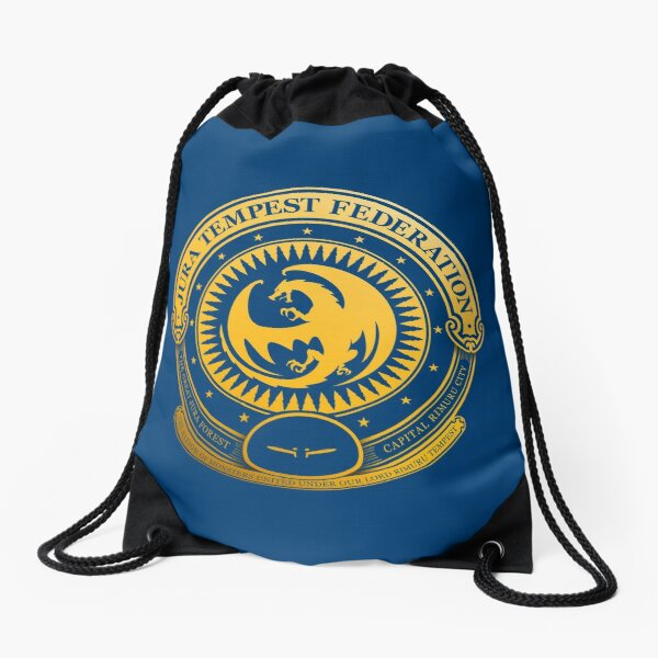Jura Tempest Federation Seal Drawstring Bag