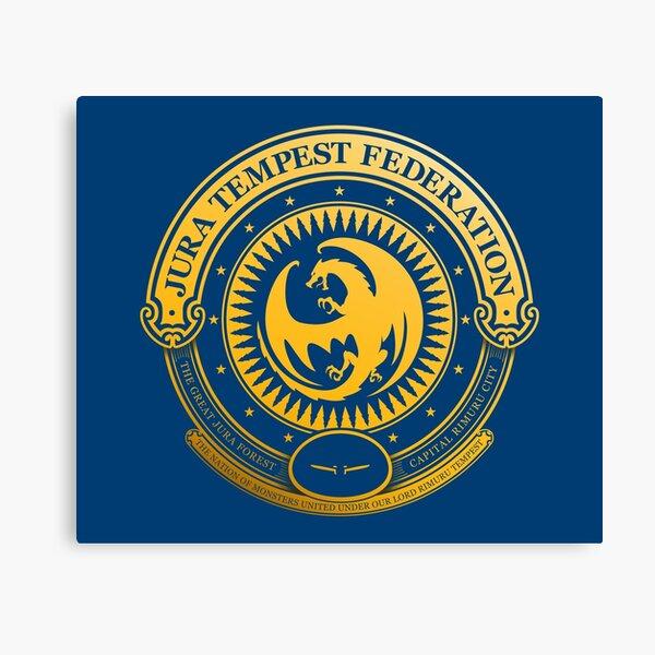 Jura Tempest Federation Seal Canvas Print