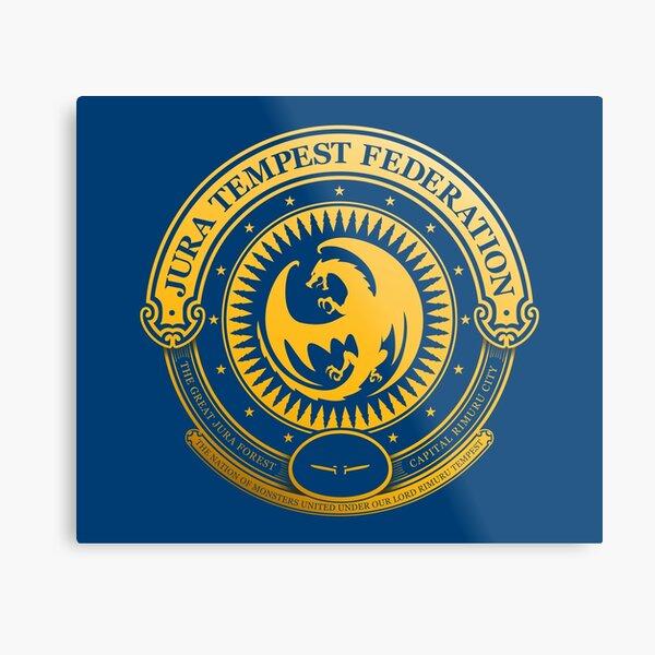 Jura Tempest Federation Seal Metal Print