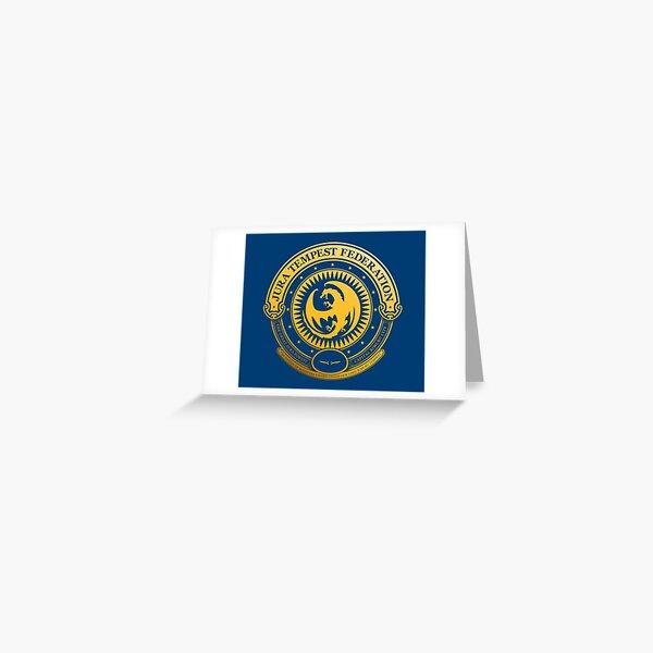 Jura Tempest Federation Seal Greeting Card