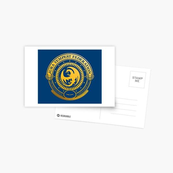 Jura Tempest Federation Seal Postcard