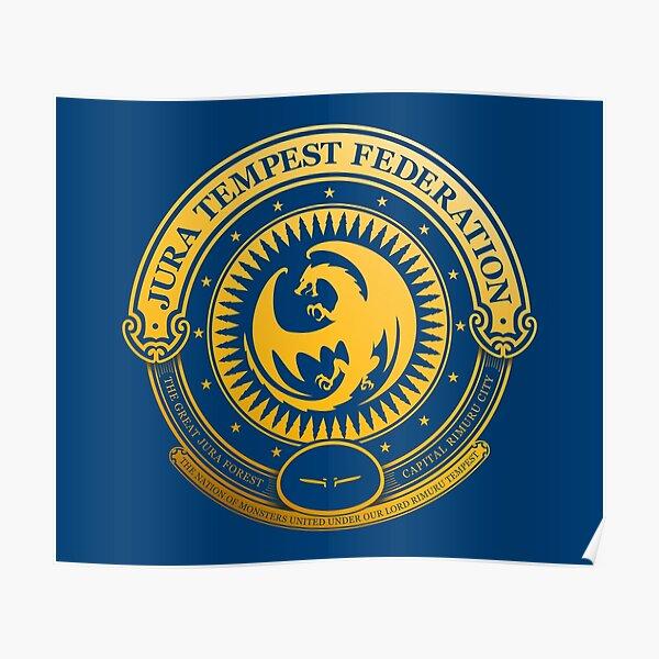 Jura Tempest Federation Seal Poster