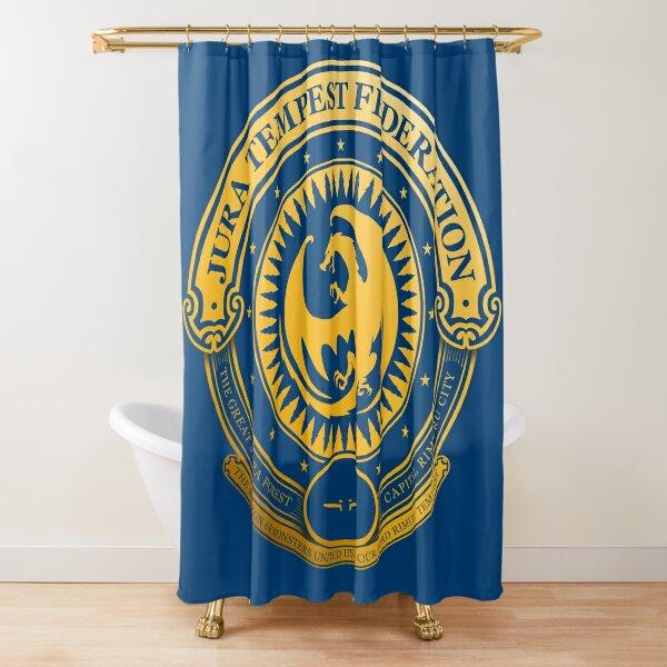 Jura Tempest Federation Seal Shower Curtain