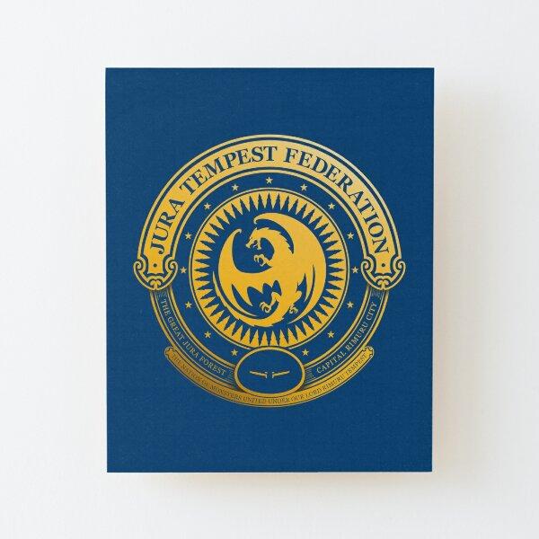 Jura Tempest Federation Seal Wood Mounted Print