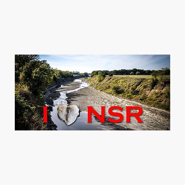 I heart NSR Photographic Print