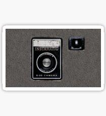 Vintage Camera cell phone case camera geeks Sticker