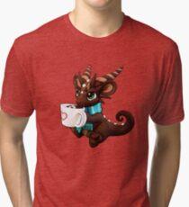 Hot Cocoa Dragon Tri-blend T-Shirt