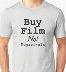 Buy Film Not Megapixels T-Shirt