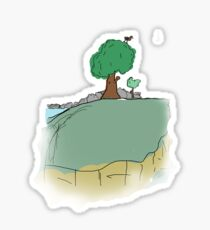Floating Island Sticker