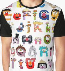 Sesame Street Alphabet Graphic T-Shirt