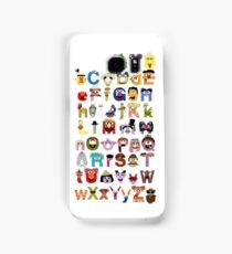 Sesame Street Alphabet Samsung Galaxy Case/Skin