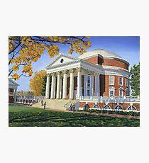 Rotunda, UVA Photographic Print