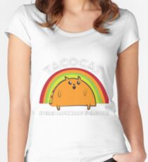 Tacocat spelled backwards is Tacocat Women's Fitted Scoop T-Shirt