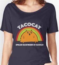 Tacocat spelled backwards is Tacocat Women's Relaxed Fit T-Shirt