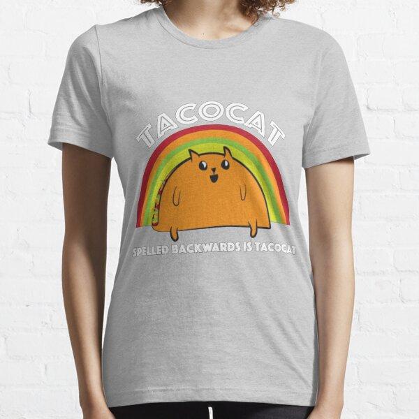 Tacocat spelled backwards is Tacocat Essential T-Shirt