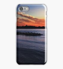 Dramatic Sunset in Annapolis iPhone Case/Skin