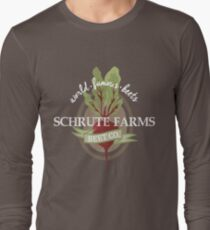 Schrute Farms - The office Long Sleeve T-Shirt