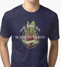 Schrute Farms - The office Tri-blend T-Shirt