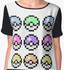 Pokemon Pastel Women's Chiffon Top