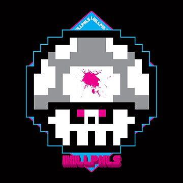 I KILL PXLS: Dead Pixels - VERSION BLACK by GuitarAtomik
