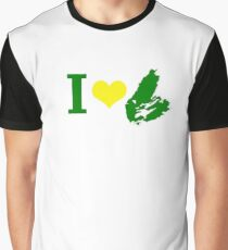 I Heart Cape Breton Graphic T-Shirt