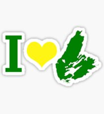 I Heart Cape Breton Sticker