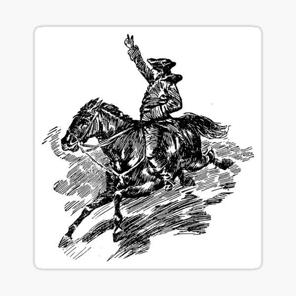 Paul Revere Sticker