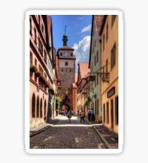 White Tower Rothenburg Sticker