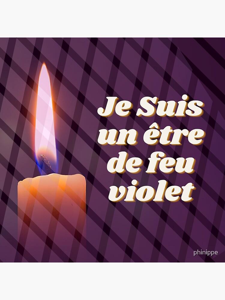 «Décret Flamme Violette » par phinippe