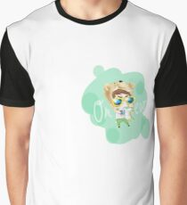 Onew Green Graphic T-Shirt