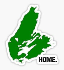 Cape Breton Island is my Home Sticker