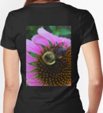 Echinacea Women's Fitted V-Neck T-Shirt