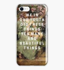 we in our youth iPhone Case/Skin