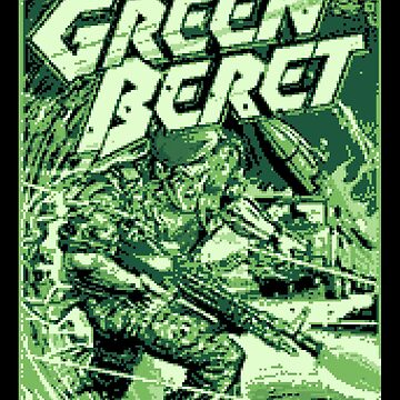 GreenBeret 8Bit by dsgndm