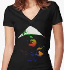 The Fishy Yarpstore I Women's Fitted V-Neck T-Shirt