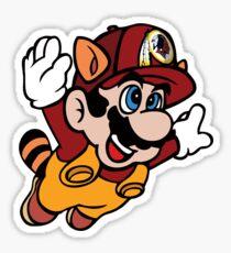 Super NFL Bros. - Redskins Sticker