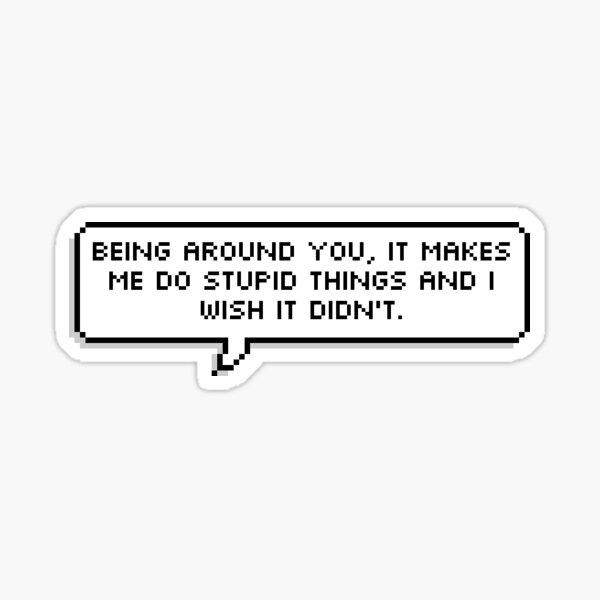 "OWL HOUSE Amity ""Stupid Things""  Sticker"