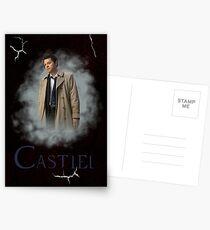Castiel Cracks Postcards