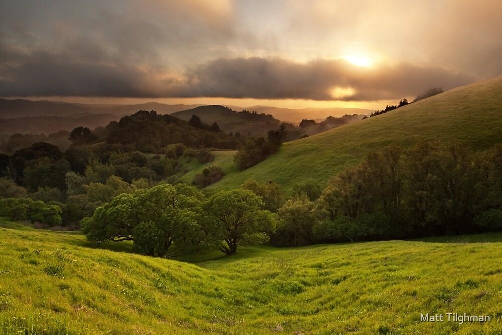 Russian Ridge on Easter Sunday by Matt Tilghman