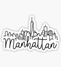 Manhattan, New York Sticker