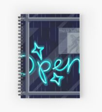 O P E N Spiral Notebook