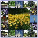 Der Garten des Herrn - Blumencollage von BlueMoonRose