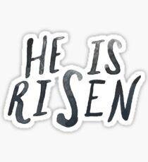 He is Risen II Sticker